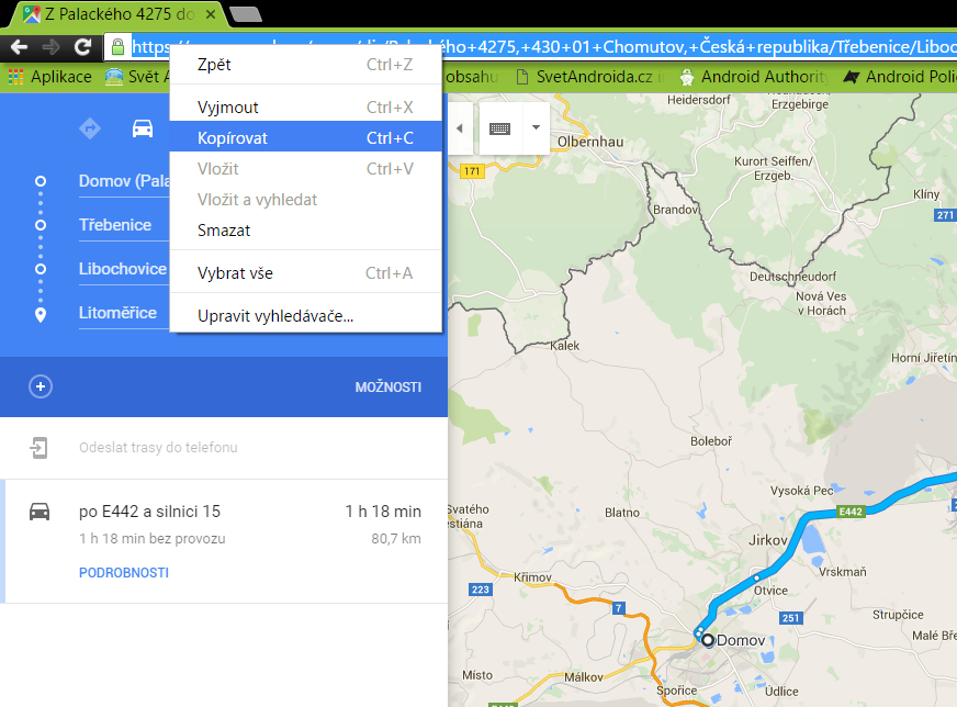 Mapy Google - copy