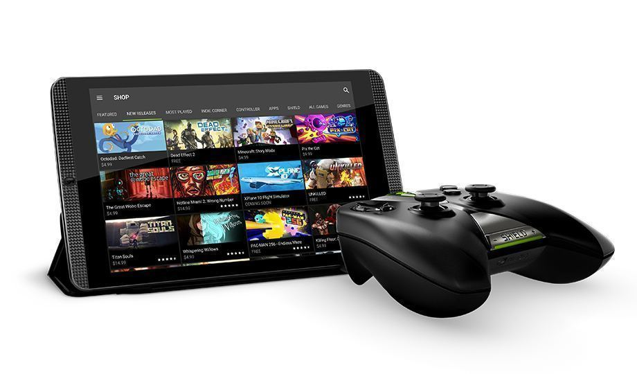 Nvidia Shield Tablet K1 - ovladač