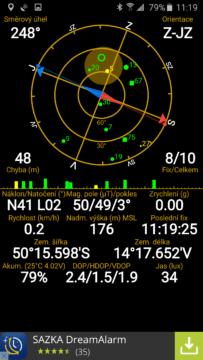Samsun Galaxy S6 Edge - GPS systém