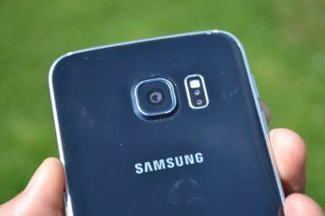 Samsung Galaxy S6 Edge objektiv