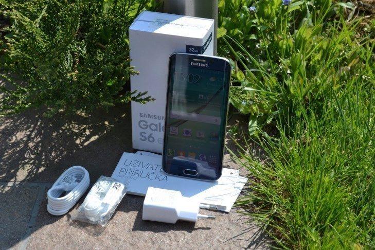 Samsung Galaxy S6 Edge - obsah balení