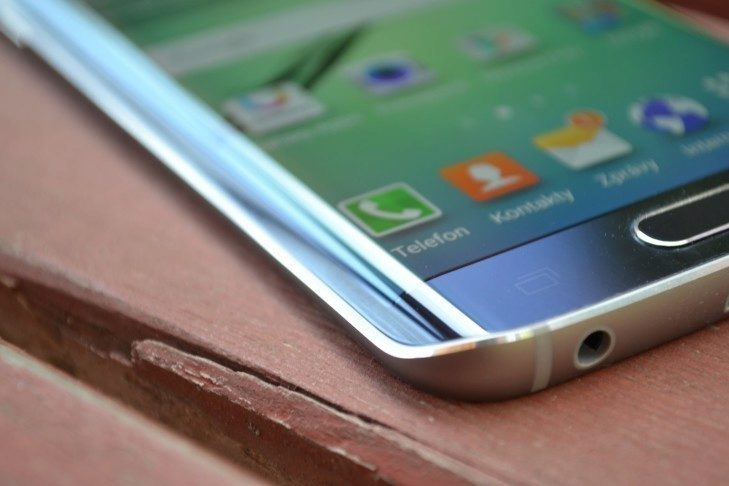 Samsung Galaxy S6 Edge - zakřivení