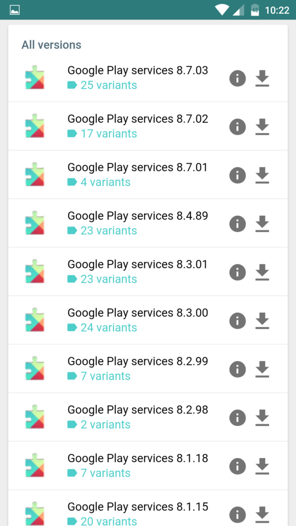 apkmirror google play services 448