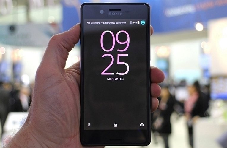 Sony Xperia X nabídka