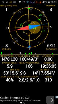 THL 2015 - GPS satelity