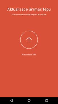 Xiaomi MiBand 1S – Aktualizace hardwaru