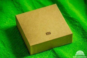 Xiaomi MiBand 1S – krabička