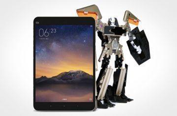 Transformer od Xiaomi: Robot ukrytý v těle tabletu