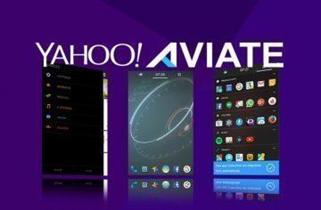 Yahoo Aviate Launcher: Velmi praktický pomocník