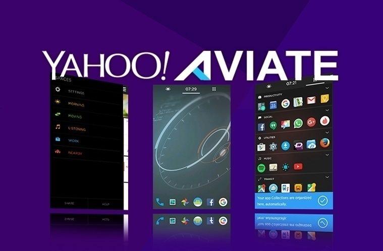 Yahoo Aviate – náhleďák
