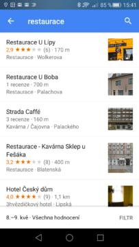 aplikace Mapy Google (1)