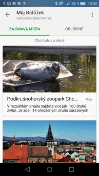 aplikace Mapy.cz (2)