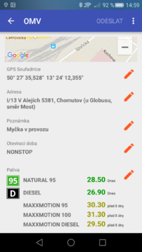 aplikace Pumpdroid (1)