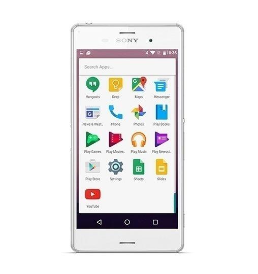Majitelé Xperií Z3 tak dostanou v podstatě čistý Android N