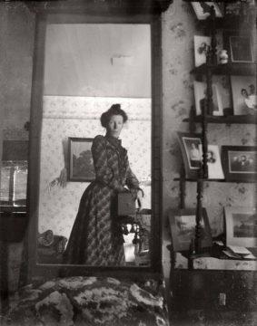 Po roce 1900 se rozmohlo focení přes zrcadlo
