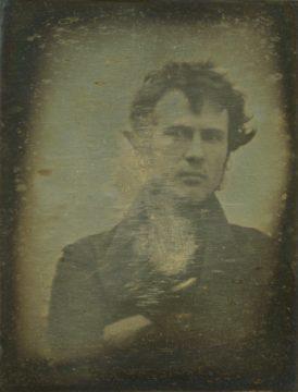 Historicky první selfie fotka