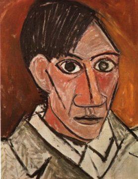 Autoportrét Pabla Picassa