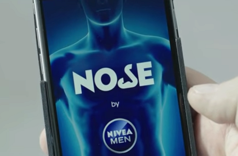 nivea men nose