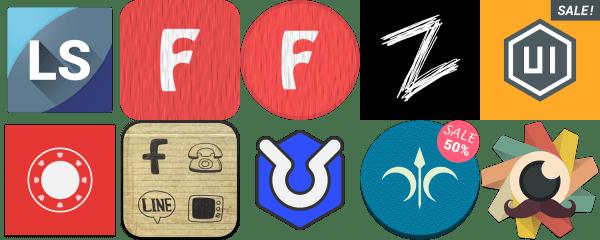 10 nejlepších balíčků ikon pro váš launcher - 6. díl
