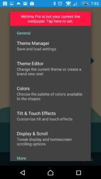 Minima Pro Live Wallpaper