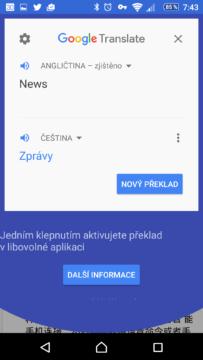 Překlad textu