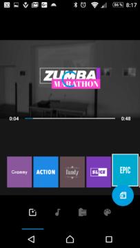 Výběr stylu videa