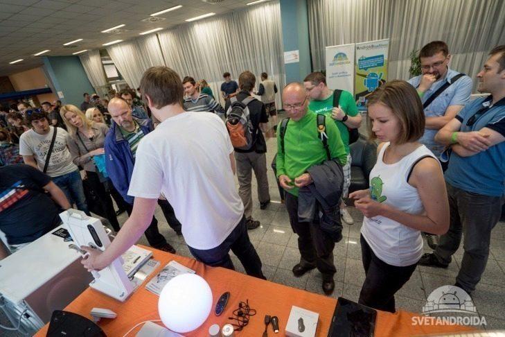 Alza Android RoadShow 2015 Praha - smarthome