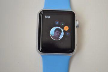 Apple Watch - telefonování (2)