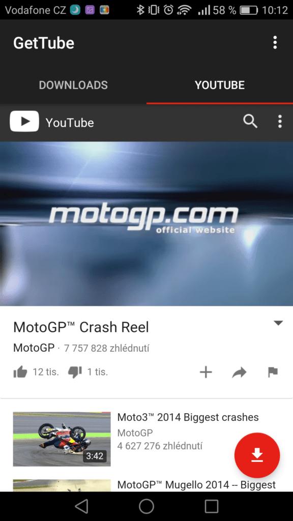 GetTube: Stahujte YouTube videa v moderním kabátku
