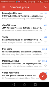 Gmail Android – tipy a triky 11