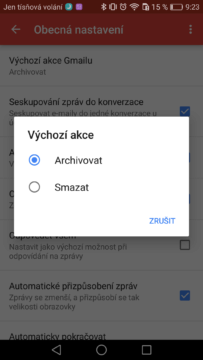 Gmail Android – tipy a triky 2