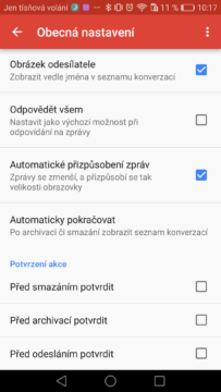 Gmail Android – tipy a triky 7