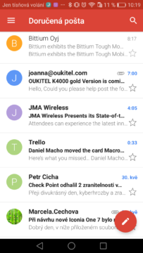 Gmail Android – tipy a triky 9