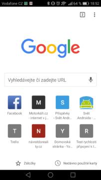 Google Chrome – tipy a triky 1