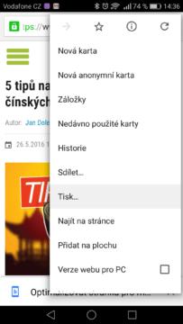 Google Chrome – tipy a triky 10