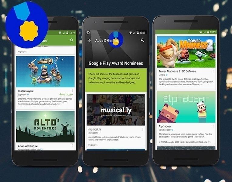 Google Play aw