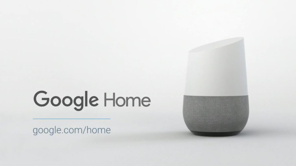 Google assistant home