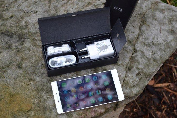 Huawei P8 - obsah balení