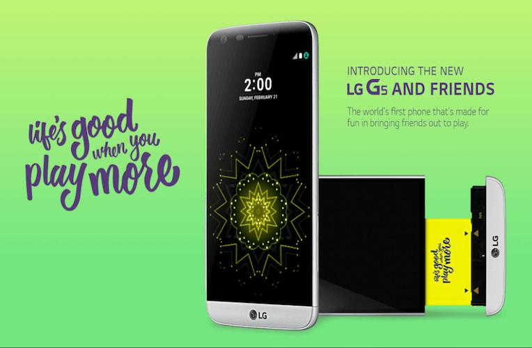 LG G5 a Friends
