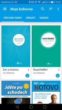 Knihy Google Play – aplikace 2