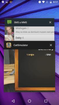 Lenovo Moto G (2015) – systém Android, multitasking