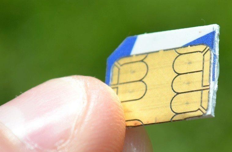 MicroSIM ořezání