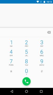 Moto X Play – číselník
