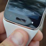 Samsung Gear S – ovládací tlačítka
