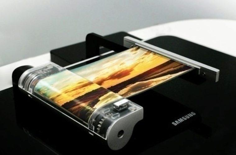 Samsung – rolovací displej – náhleďák