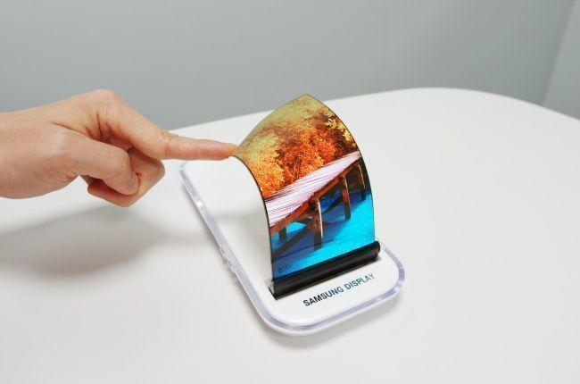 Samsung rolovací displej