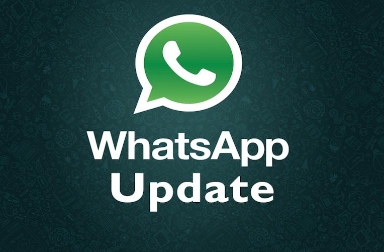 WhatsApp aktualizace