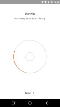 Xiaomi AmazFit – aplikace1