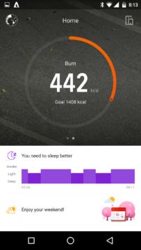 Xiaomi AmazFit – aplikace13