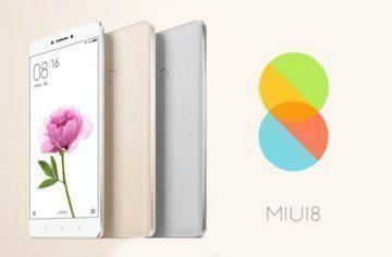 MIUI 8 a Mi Max: Nové rozhraní a obrovský phablet od Xiaomi